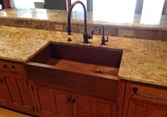 Charmant Mexican Style Copper Farm Sinks For Kitchens | My Dream Kitchen | Pinterest  | Mexican Style, Copper Farm Sink And Copper Kitchen