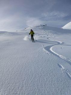 Da kommt Freude auf :DD Ski Touring, Skiing, Mountains, Nature, Travel, Alps, Glee, Ski, Naturaleza