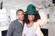 """[Watch] Pharrell Williams Stops By Oprah Prime This Sunday #SneakPeek #Getmybuzzup- http://getmybuzzup.com/wp-content/uploads/2014/04/Pharrell-Williams-Oprah-Winfrey.jpg- http://getmybuzzup.com/watch-pharrell-williams-stops-oprah-prime-sunday-sneakpeek-getmybuzzup/- Pharrell Williams Stops By Oprah Prime This Sunday ByAmber B Oprah Winfrey meets up with 7 time Grammy Award winner Pharrell Williams, one of the most sought out musicians today. The Oscar nominated """"Happy"""