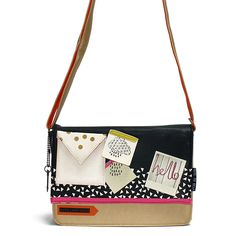 Note to Self Mini Bag by Disaster Designs - Front