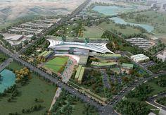 Karamay Hospital Campus Master Plan