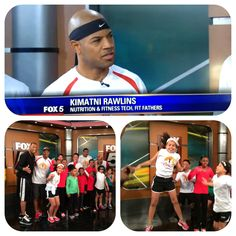 Morning News Segment: Fox 5 DC Invited #VeganPro & @FitFathers in studio to discuss family fitness and nutrition as well as host a micro workout. Yep, #MeatFreeAthlete @ARtvKimatni put them to work including host Wisdom Martin. The kids were super excited and energetic on this beautiful day. Saturday is our 2nd Annual Fun Run at Bowie High, MD from 9am to 12pm. And yes, it's free. Register at www.KidsBeingFit.com . Remember, Stay Active, Eat Clean & Energize Your Life!