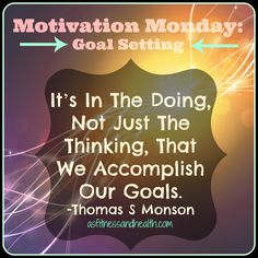 It's Motivation Monday! Who's setting goals for this week? If you don't set goals, you're far less likely to accomplish what you want to. Set your life on fire! In health, in love, in whatever it is that you do. You CAN do it! Add me on Facebook.com/angelinerstetzko to see how I can help you reach your health and fitness goals!