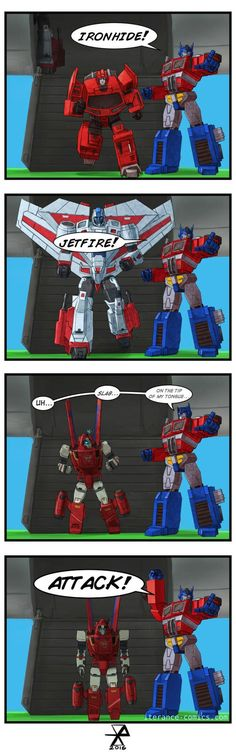 """Playing Earth Wars, I get the feeling Optimus doesn't know all his troops' names."" by Iterance Comics Transformers Memes, Transformers Decepticons, Transformers Optimus Prime, Superhero Villains, Cultura Pop, Funny As Hell, Anime, Power Rangers, Fan Art"