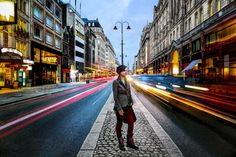 Photograph Girl in London Traffic by Anatoleya  on 500px