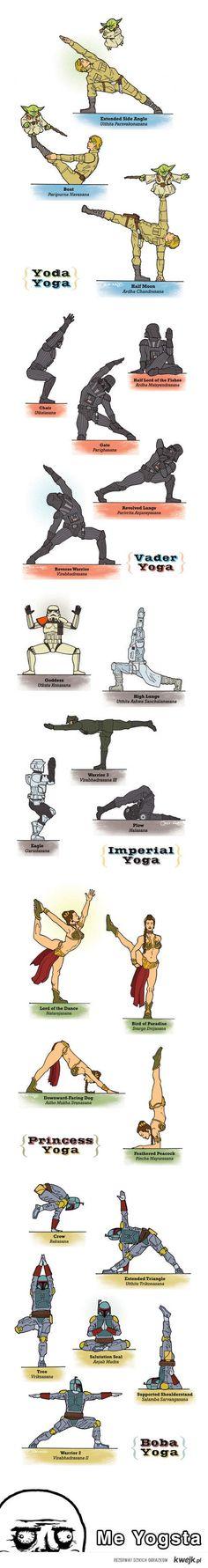 I am starting to do yoga. :)