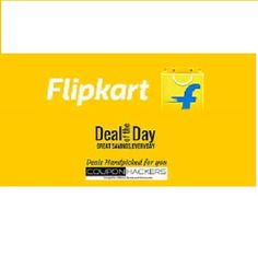 Flipkart is offering Deals of the Day 16th June How to catch the offer: Click here for offer page AddProductin your cart Login or Register Fill the shipping details Make final payment