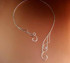 A perfect combination of elegance and eccentricity which I tend to gravitate towards in my jewelry   Elven Whisper Torc.