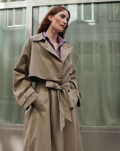 #andotherstories #stockholm #atelier #fall #fashion #outfit #inspiration #winter #boots #dress Rebook Shoes, Fashion Story, Archetypes, Raincoat, Double Breasted, Knitwear, Personal Style, Organic Cotton, Dressing