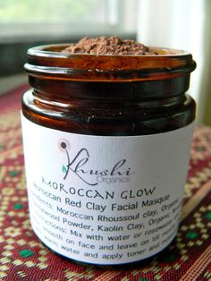 Moroccan Red Clay Facial Masque
