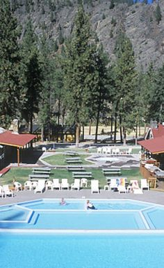 Quinn's Hot Springs Resort in Paradise, Montana | glaciermt.com