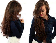 Kosmetyczna Hedonistka: Beauty | Lifestyle: GADŻECIARA: DUŻA OBJĘTOŚĆ FRYZURY I ROMANTYCZNE LOKI NA WAŁKI TERMICZNE. BABYLISS PRO PROFESJONALNE TERMOLOKI CERAMICZNE BAB3021E. Ginger Hair, Hair Pictures, Loki, Hair Inspiration, Curls, Long Hair Styles, Hair Tutorials, Beauty, Beautiful