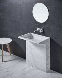 EDGE - Designer Wash basins from Claybrook Interiors Ltd. ✓ all information ✓ high-resolution images ✓ CADs ✓ catalogues ✓ contact information. Bathroom Basin Cabinet, Wash Basin Cabinet, Bathroom Sink Units, Small Bathroom, Bathrooms, Bathroom Design Luxury, Bathroom Interior, Wash Basin Counter, Washbasin Design