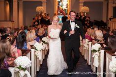 Beautiful sweetheart neckline wedding dress - Houston wedding photography - MD Turner Photography