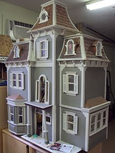 Well, you know, if it were a real house! Victorian dollhouse