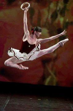 "Ashley Bouder in George Balanchine's ""Tarantella"" at the New York City Ballet"