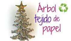 Cómo hacer un elegante árbol de Navidad con papel. Más tutoriales: http://www.youtube.com/user/Gustamonton?feature=mhee REDES SOCIALES: Facebook: https://www...