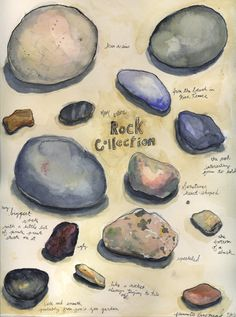 rock collection by Jeannette