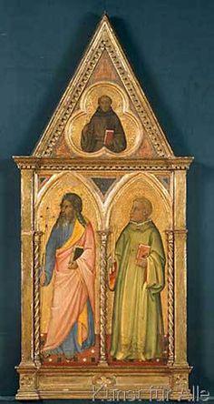 Giotto di Bondone - Der Apostel Philippus und der Heilige Leonhard