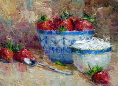 Julie Ford Oliver  Strawberries and Cream
