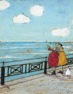 Sam ToftHer Favourite Cloud Canvas Print Cotton Multi-Colour 40 x 50 cm