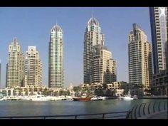 Marina Walk - Trident Marinascape and Six Emaar Towers.