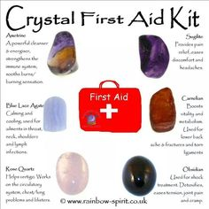 Crystal 1st aid kit