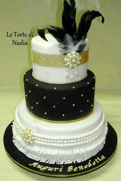 "Torta ""Stile Charleston"" Info: 389 9355816 - anche su WhatsApp Via Brigate Partigiane, 1 Cisterna di Latina"