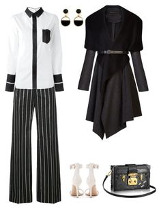 """Untitled #54"" by elizakambarova346 ❤ liked on Polyvore featuring Balenciaga, Maison Margiela, Gianvito Rossi, BCBGMAXAZRIA and Warehouse"