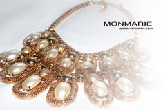 Two Layer Chunky Necklace $29 ONLY AT www.monmarie.com