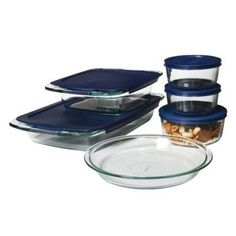 Pyrex Easy Grab 11 Piece Bake N Store Set * Click image for more details.(This is an Amazon affiliate link and I receive a commission for the sales)