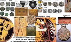 Macedonian Sun aka Vergina Sun aka Argead Star, aka Pan-Hellenic Sun is a copyrighted Pan-Hellenic national symbol of Greece