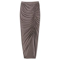 Target : Mossimo Women's Ruched Maxi Skirt - Assorted Colors : Image Zoom