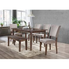 Youll Love The Mindy 6 Piece Dining Set At Wayfair