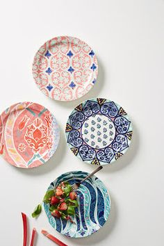 Anthropologie Favorites:: Spring Home Presale Pottery Designs, Mug Designs, Whimsical Kitchen, Anthropologie Home, Welcome To My House, Spring Home, Pottery Painting, Plates On Wall, Plate Wall