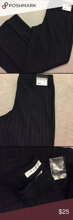 Woman dress pants sz12 short! New with tags sz 12 short. Nice black dress pants with tags Retails for $54.99. Great quality! 3% spandex. Geoffrey Beene Pants Straight Leg