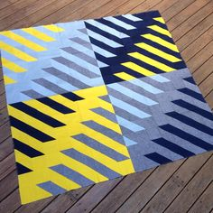 Geometriquilt: Finally finished my quilt top based on my DIY block design for…