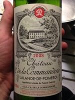 De La commanderie Lalande de Pomerol 2008 #wine #2008 #vin