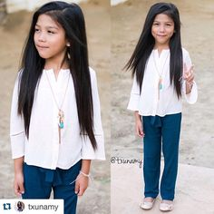 @txunamy rocking this #frompepper look like nobody's business! #littlefashionista #frompeppergirls #Repost @txunamy ・・・ We are loving this complete outfit from @frompepper,check them out for the cutest pieces