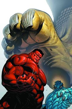 #Red #Hulk #Fan #Art. (Hulk Vol.2 #28 Cover) By: Ed McGuinness. (NOW WHERE DID YOU COME FROM LITTLE GUY?)(THE * 5 * STÅR * ÅWARD * OF: * AW YEAH, IT'S MAJOR ÅWESOMENESS!!!™)[THANK U 4 PINNING!!!<·><]<©>ÅÅÅ+(OB4E)