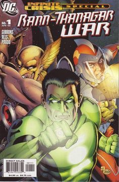 Rann-Thanagar War: Infinite Crisis Special DC) Print One-Shot FN for sale online Infinite Crisis, Dave Gibbons, Bowser, Comic Art, Dc Comics, War, Things To Sell, Fictional Characters, Mint