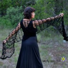 Penelope's Flirty Shawl Crochet Pattern | FaveCrafts.com