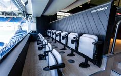 Adidas VIP Suite at Real Madrid Stadium by Stone Designs, Madrid (Spain) 2013 #RealMadrid #Adidas #StoneDesigns