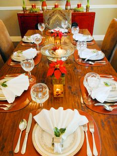 Elegant Christmas Table Decorating Idea.  Celebrate with Renaissance Fine Jewelry at www.vermont jewel.com, Facebook or at our 151 Main Street, Brattleboro, Vermont location. We love to make everyone happy!