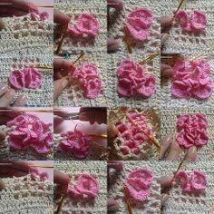 beautiful tutorial con fotos !!!! ... ❥Teresa Restegui http://www.pinterest.com/teretegui/ ❥