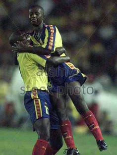 Ecuador 4 Venezuela 0 in 2001 in Barranquilla. Edison Mendez made it 3-0 after 60 minutes in Group A at Copa America.