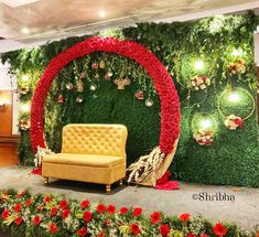 No photo description Marriage Hall Decoration, Engagement Stage Decoration, Naming Ceremony Decoration, Reception Stage Decor, Wedding Stage Design, Wedding Reception Backdrop, Wedding Mandap, Wedding Receptions, Wedding Table