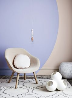 The Design Chaser - Images styled by Bree Leech and Heather Nette King for Dulux Colour Forecast Pastel Interior, Interior Paint Colors, Interior Design Tips, Paint Colours, Interior Styling, Design Ideas, Room Inspiration, Interior Inspiration, Living Vintage