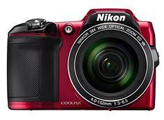 Nikon Coolpix L840 Digitalkamera (16 Megapixel, 38-fach opt. Zoom, 7,6 cm (3 Zoll) LCD-Display, USB 2.0, bildstabilisiert) rot - http://kameras-kaufen.de/nikon/rot-nikon-coolpix-l840-digitalkamera-16-38-fach-7-6