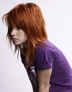 Hayley. Thinking I want bangs like this.